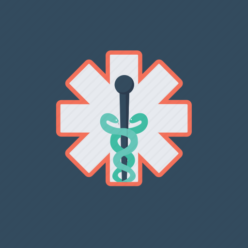 ambulance, emergency medical services, emergency medical technician, first aid, star of life icon