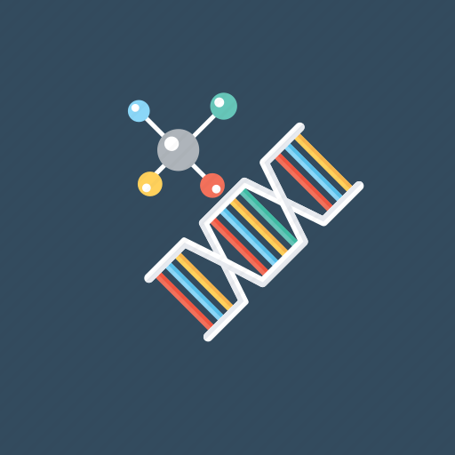 chemical composition, dna, dna test, genes, genetics icon