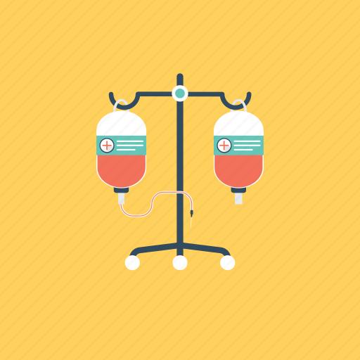 blood bag, infusion drip, intravenous drip, iv drip, transfusion icon