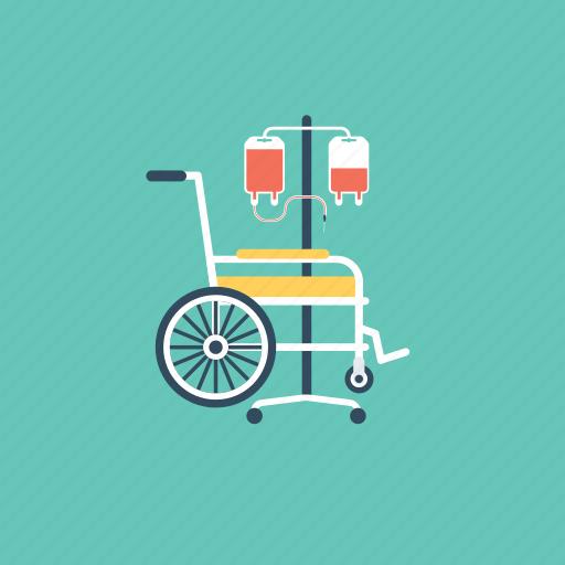 disability, handicap, impairment, invalid, paraplegic icon