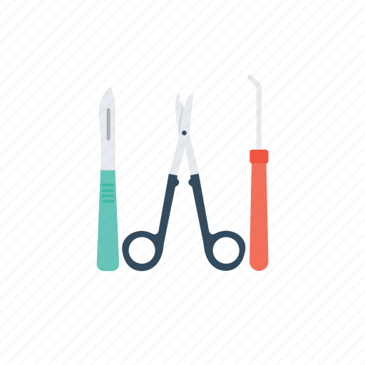 dental care, dental surgery tools, minor oral surgery, periodontal surgery, tooth extraction icon
