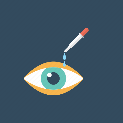 Dropper, eye care, eye infection, eye medication, ophthalmology icon - Download on Iconfinder