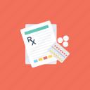 health status, medical diagnosis, medical symptoms, medical test, nursing process icon