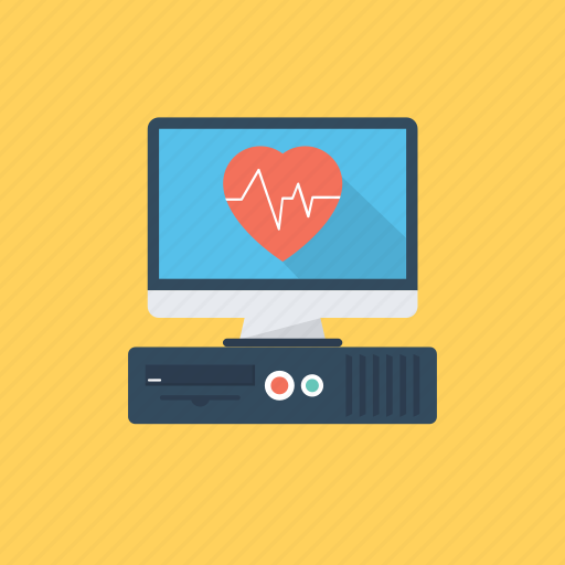 Cardiogram, cardiography, heartbeat rate, pulsation, pulse rate icon - Download on Iconfinder
