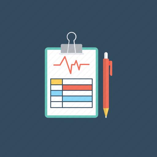 diagnose, diagnostic test, health status, medical test, medical test report icon