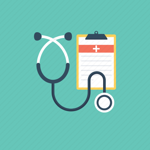doctor tool, medical checkup, medical equipment, phonendoscope, stethoscope icon