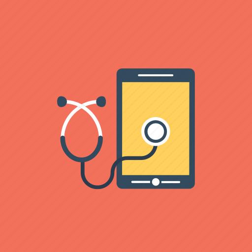 health app, healthcare app, medical app, mobile app, online consultation icon