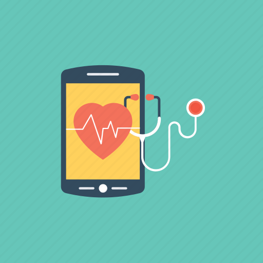 health app, healthcare app, medical app, mobile app, online consultation icon
