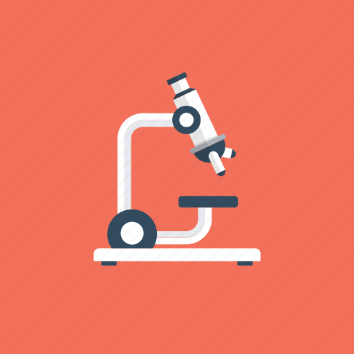 laboratory, microscope, optical lab equipment, research, science icon