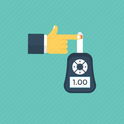 blood glucose meter, blood glucose monitoring, blood glucose testing, diabetes management, glucose monitoring icon