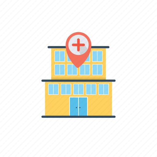 health clinic map, hospital location, hospital location pin, hospital map pin, map pin icon