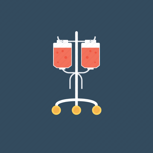blood bag, infusion drip, intravenous drip, iv drip, transfusion icon