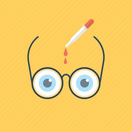 eye care, eye infection, eye medication, eyesight health, vision care icon
