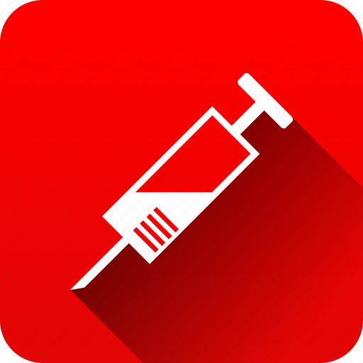 health care, hospital, medical instruments, medicine, syringe icon