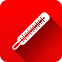 healthcare, medical, medical instruments, temperature, thermometer icon