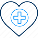 doctor, health, heart, hospital, love icon