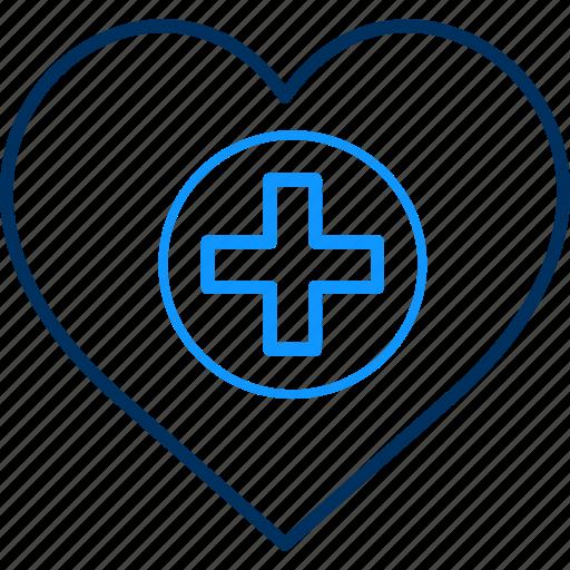 doctor, health, heart, hospital, love icon
