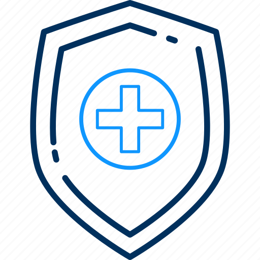 hospital, protection, secure, security icon