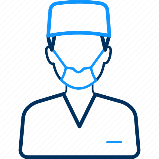 doctor, health, hospital, male, medical, surgeon icon