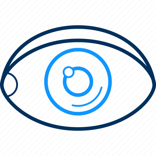 eye, eyetest, search, view, vision icon