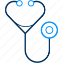 stethoscope, health, hospital, patient, medical, doctor