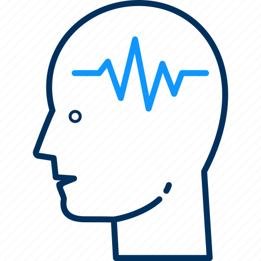 brain, doctor, health, hospital, medical, patient icon