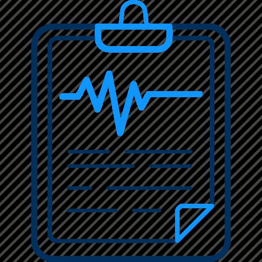 doctor, documnt, health, hospital, patient, report icon