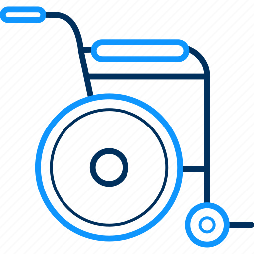 arm, chair, patient, wheel icon