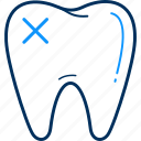 cavity, dental, dentist, teeth, tooth icon