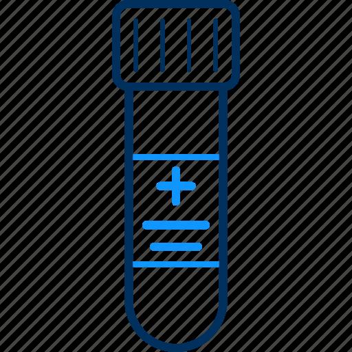 laboratory, sample, test, tube icon