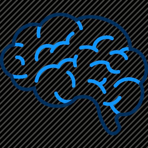 Brain, mind, healthy, creative icon - Download on Iconfinder