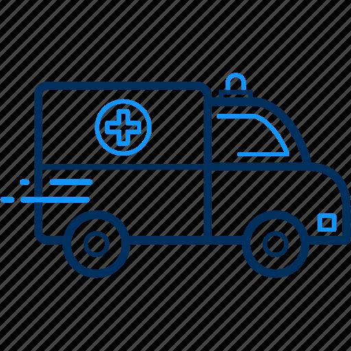 Ambulance, emergency, hospital, medical icon - Download on Iconfinder