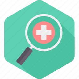 doctor, find, healthcare, hospital, medical, search icon