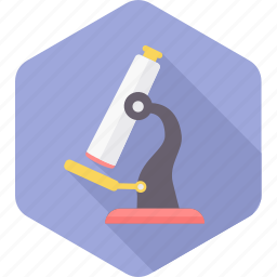 biology, experiment, glass, medical, microscope, physics, science icon