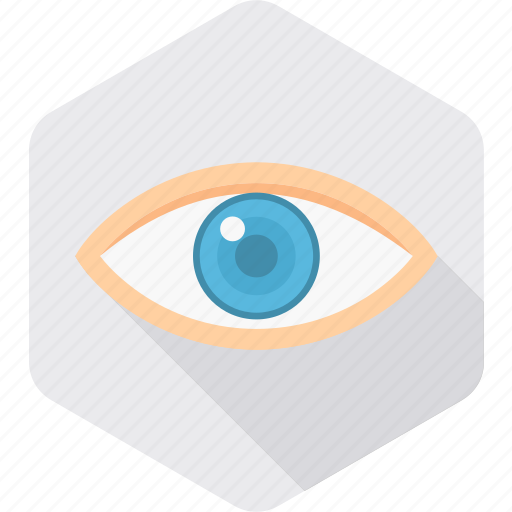 checkup, eye, view, visibility, visible, vision, watch icon