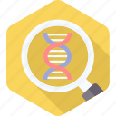 dna, genetic, genetics, genome, helix, molecule, science icon