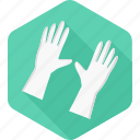 clean, doctor, glove, gloves, hand, hospital, medical icon