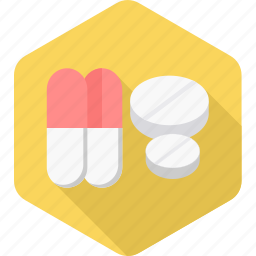 capsule, drug, emergency, medical, medicine, pill, pills icon