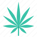 cannabis, hemp, indica, leaf, marijuana icon