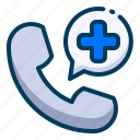 call, doctor, emergency, healthy, hospital, medical, phone