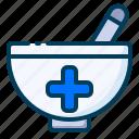 healthy, herbal, medical, mortar, pestle, pharmacology, pharmacy