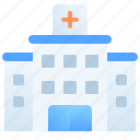 building, clinic, emergency, healthcare, healthy, hospital, medical icon