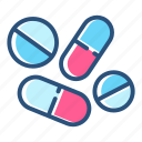 drug, medical, medication, medicine, pharmacy, pill, vitamin icon
