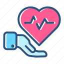 health, healthcare, heartbeat, hospital, medical, medicine, pulse icon