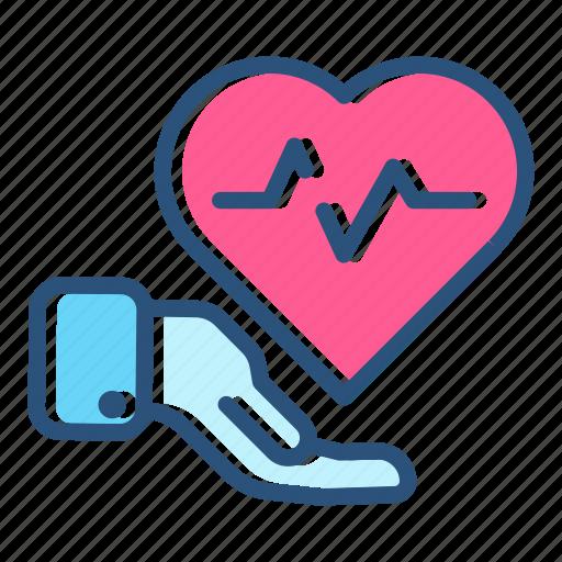 health, healthcare, heartbeat, hospital, medical, medicine, pulse icon