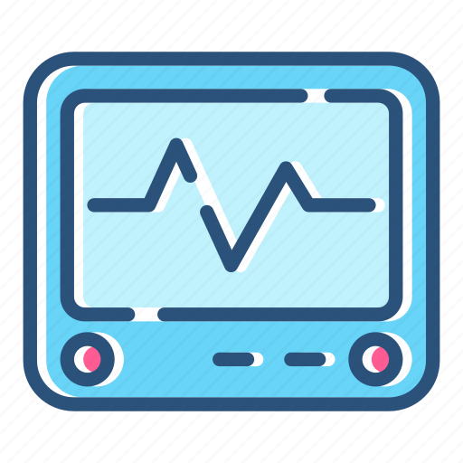 Ecg, ekg, healthcare, heartbeat, monitor, pulse, analytics icon - Download on Iconfinder