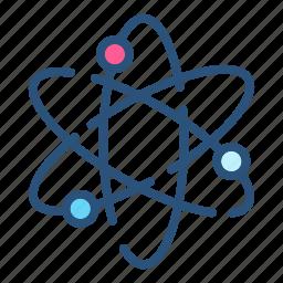 atom, chemistry, medicine, molecular, molecule, research, science icon