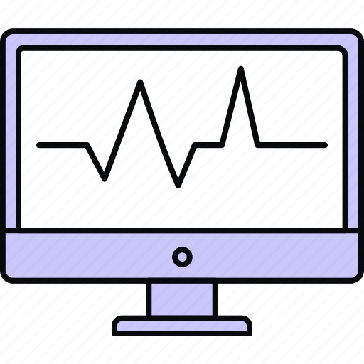 analytics, beat, ecg, ekg, heartline, monitor, pulse icon