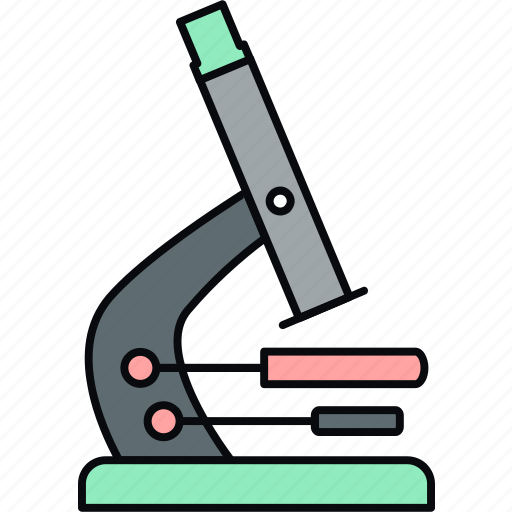 biology, experiment, lab, laboratory, medical, microscope, science icon