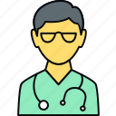 care, doctor, health, healthcare, medical, practitioner, stethoscope icon